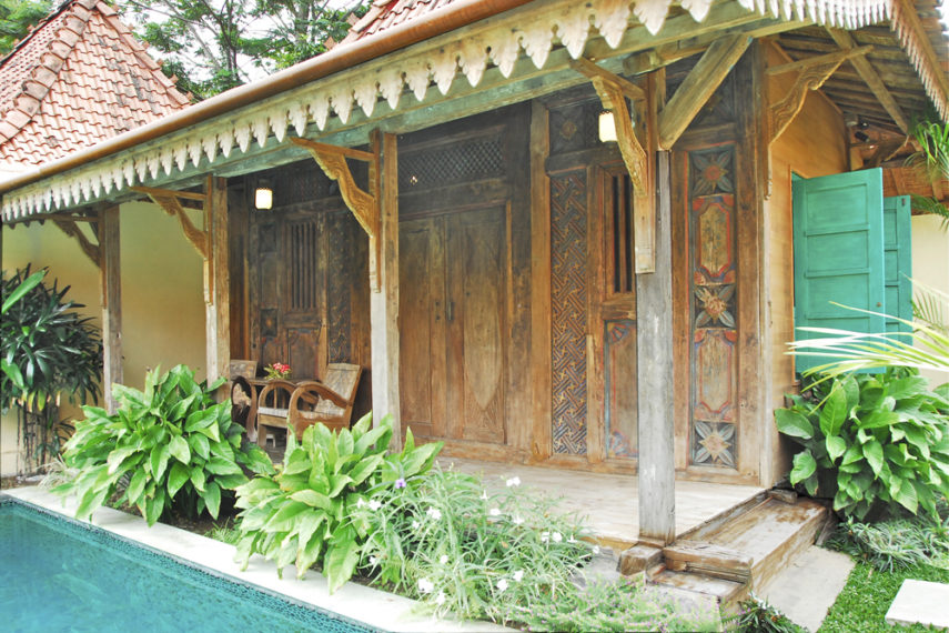 Le bungalow Javanais - Copie